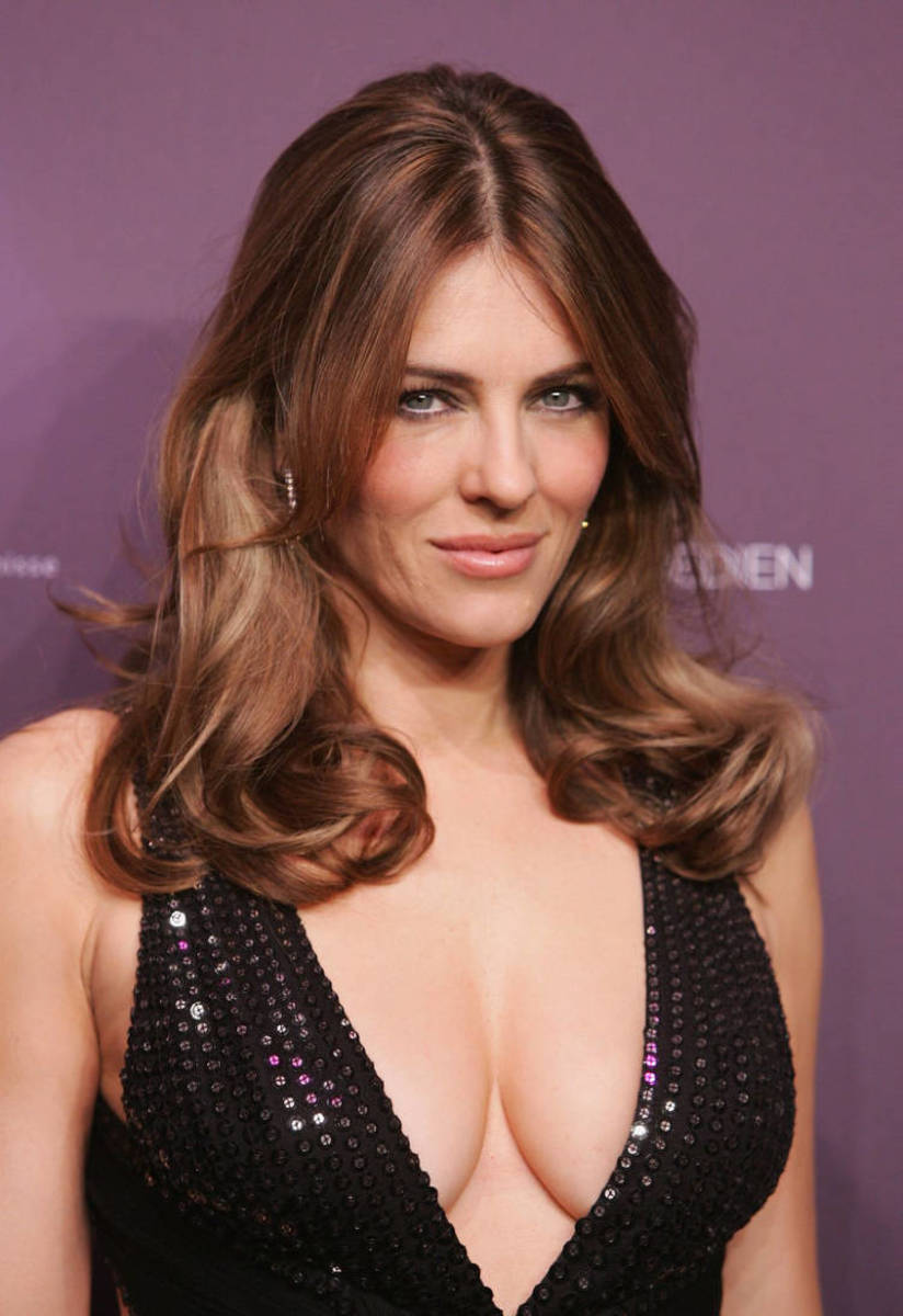 Liz Hurley must be doing something right!