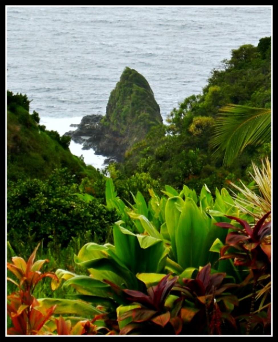Keopuka Rock - Garden of Eden, Maui