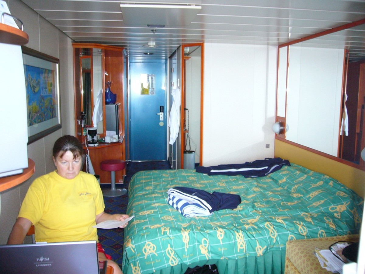 Balcony Stateroom on the NCL Star