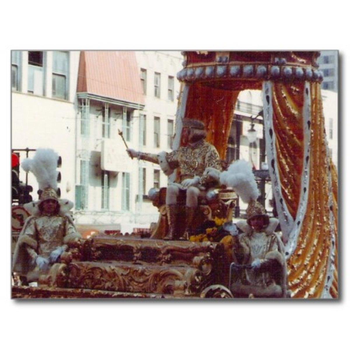 Rex King of Mardi Gras 1983