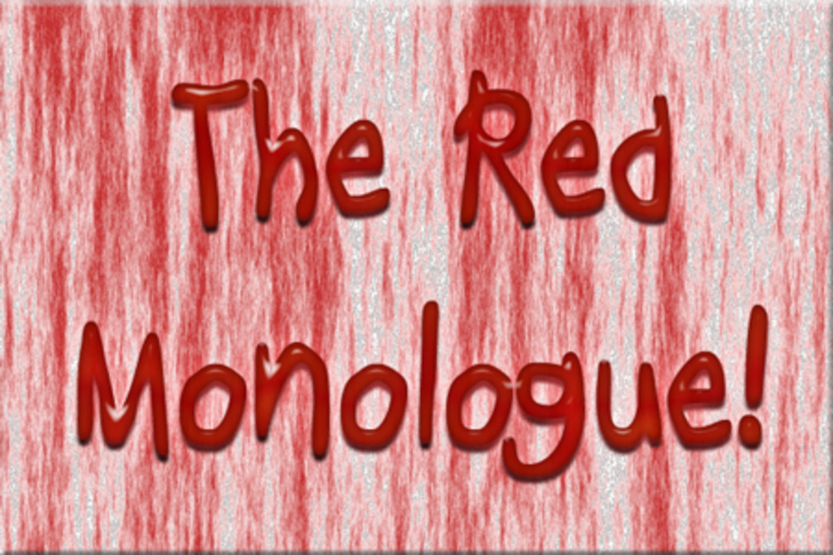The Red Monologue : The Story of Little Red Riding Hood : A free monologue for all : children, teens and adults