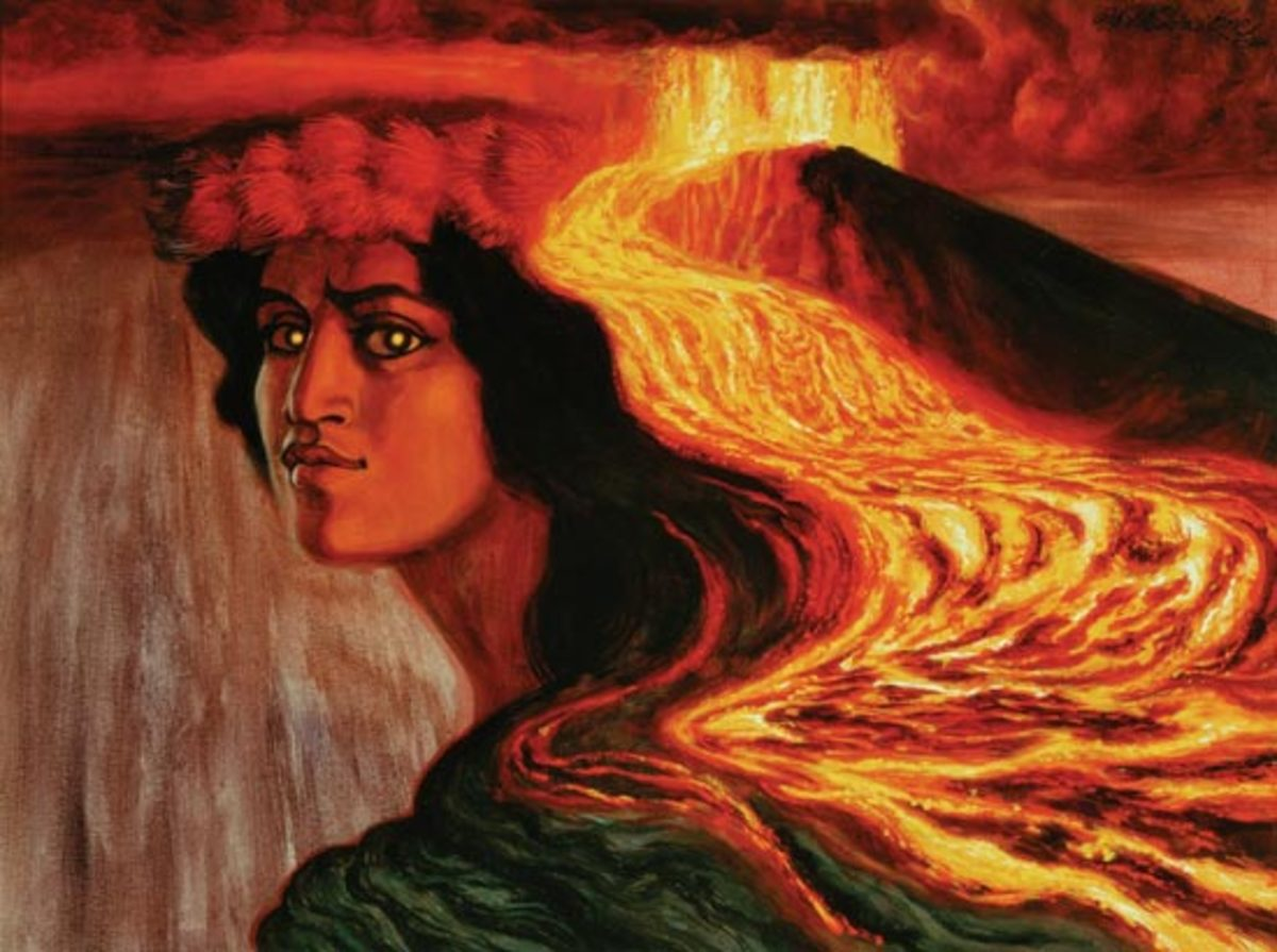 Pele, Goddess of Volcanoes