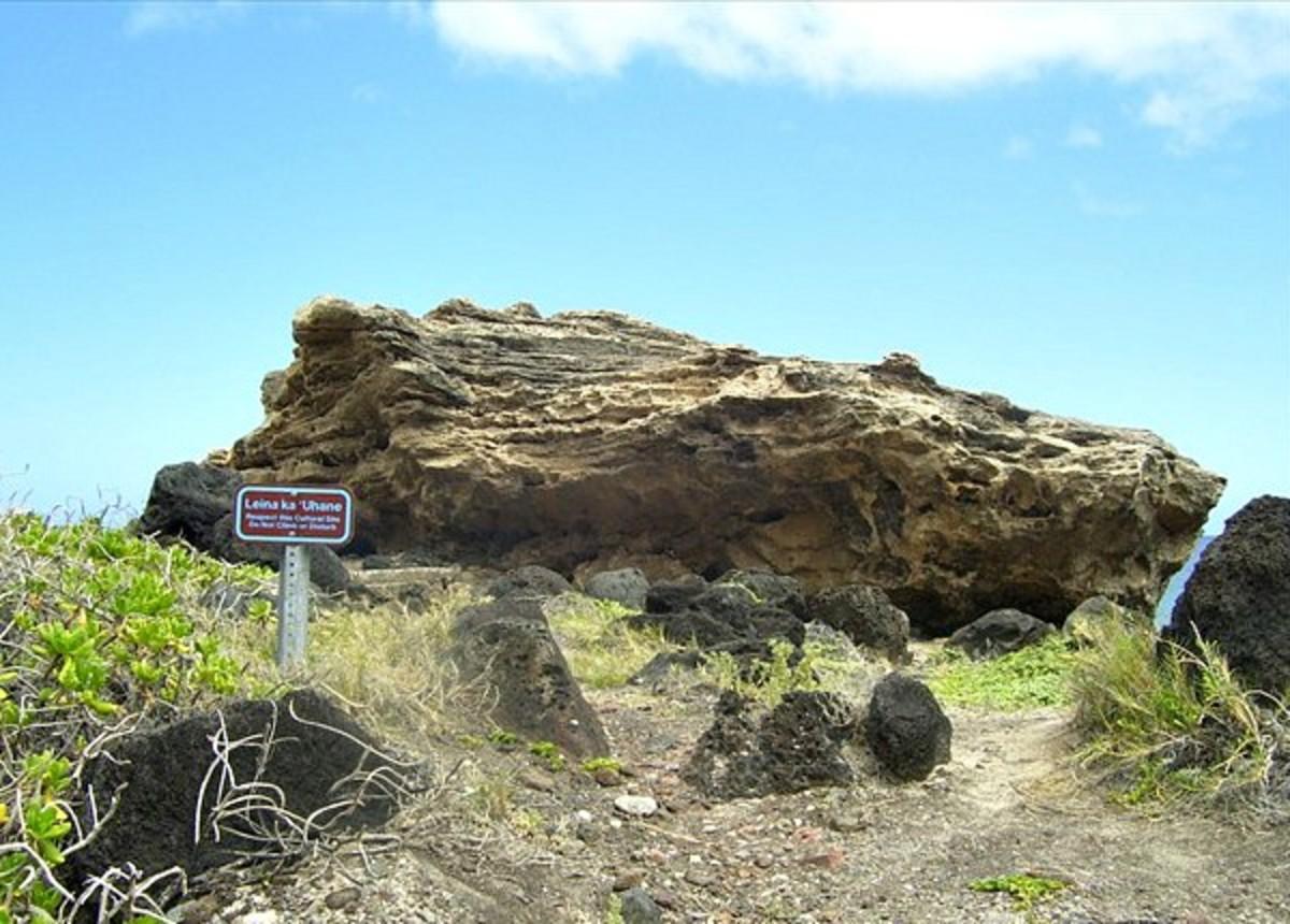 Leina ka 'Uhane at Kaena Point