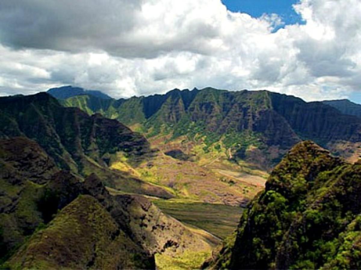 Makua Valley, Oahu, Hawaii