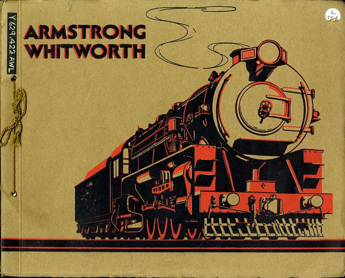 Armstrong Whitworth catalogue in the collection of the North of England Institute of Mining and Mechanical Engineers at Y629.422.
