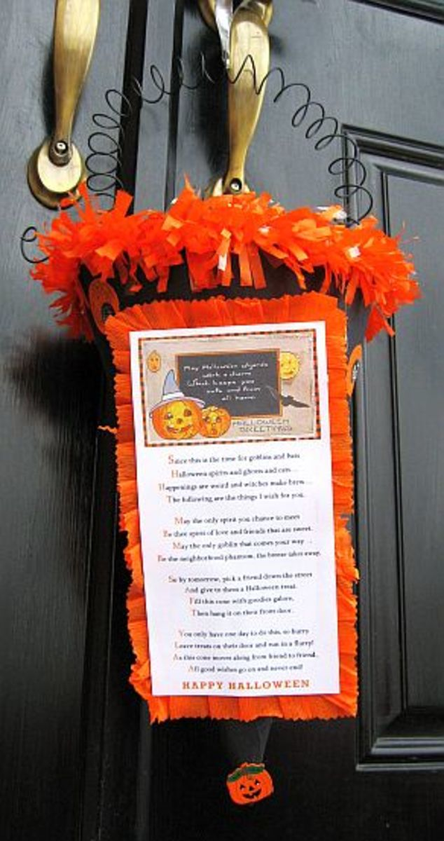 Halloween Boo Poems and Signs