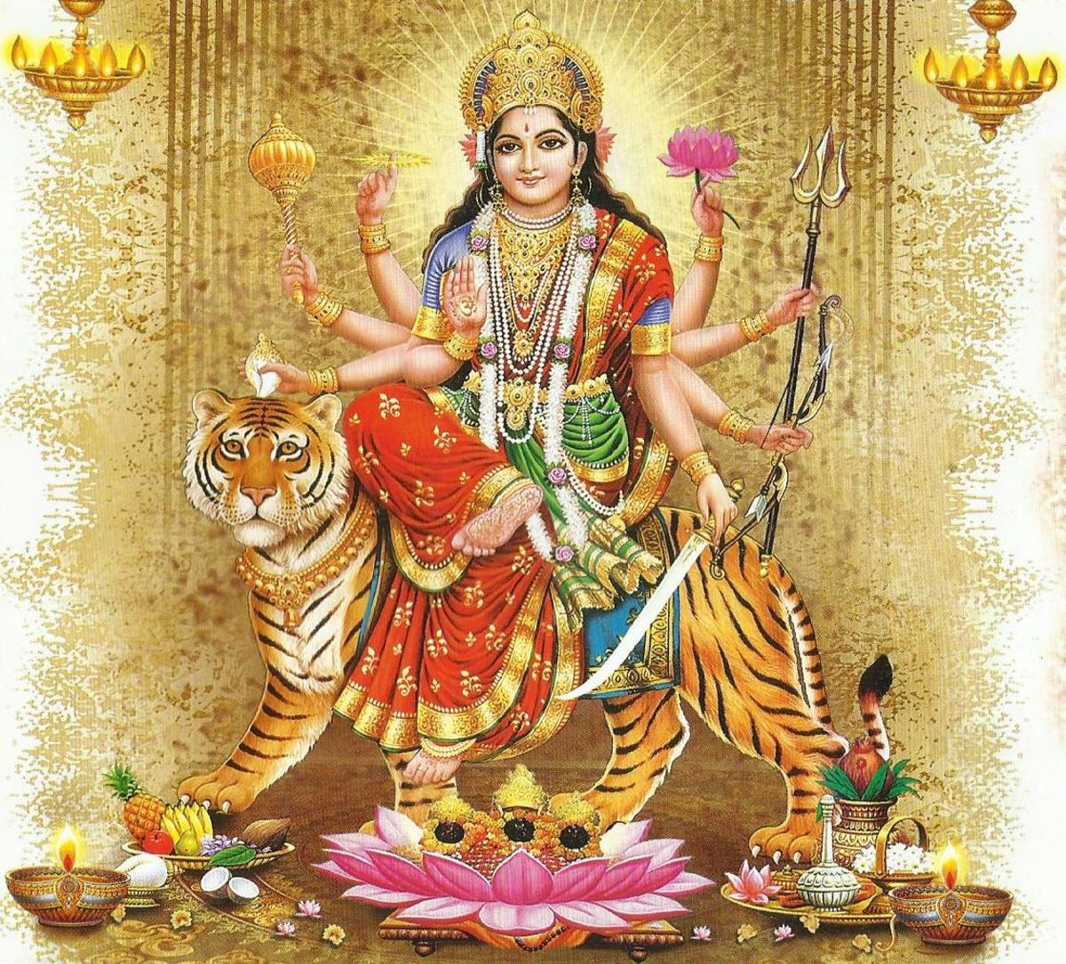 Mantras of Goddess Durga - The Universal Mother