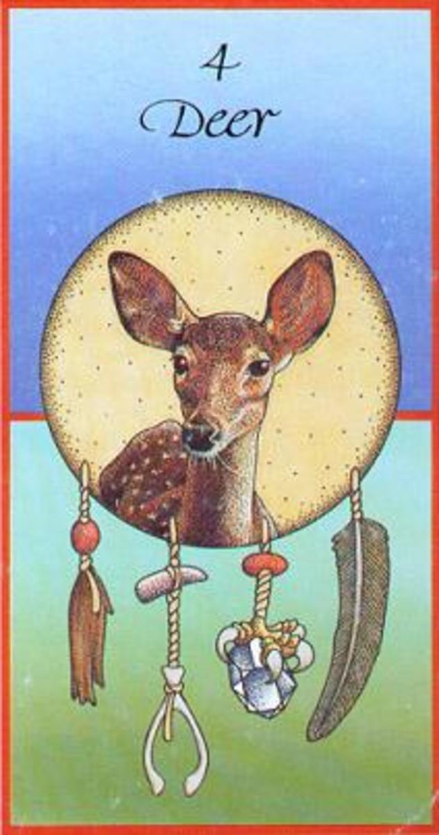 Meaning of the Native American  Animal  snake medicine  cards