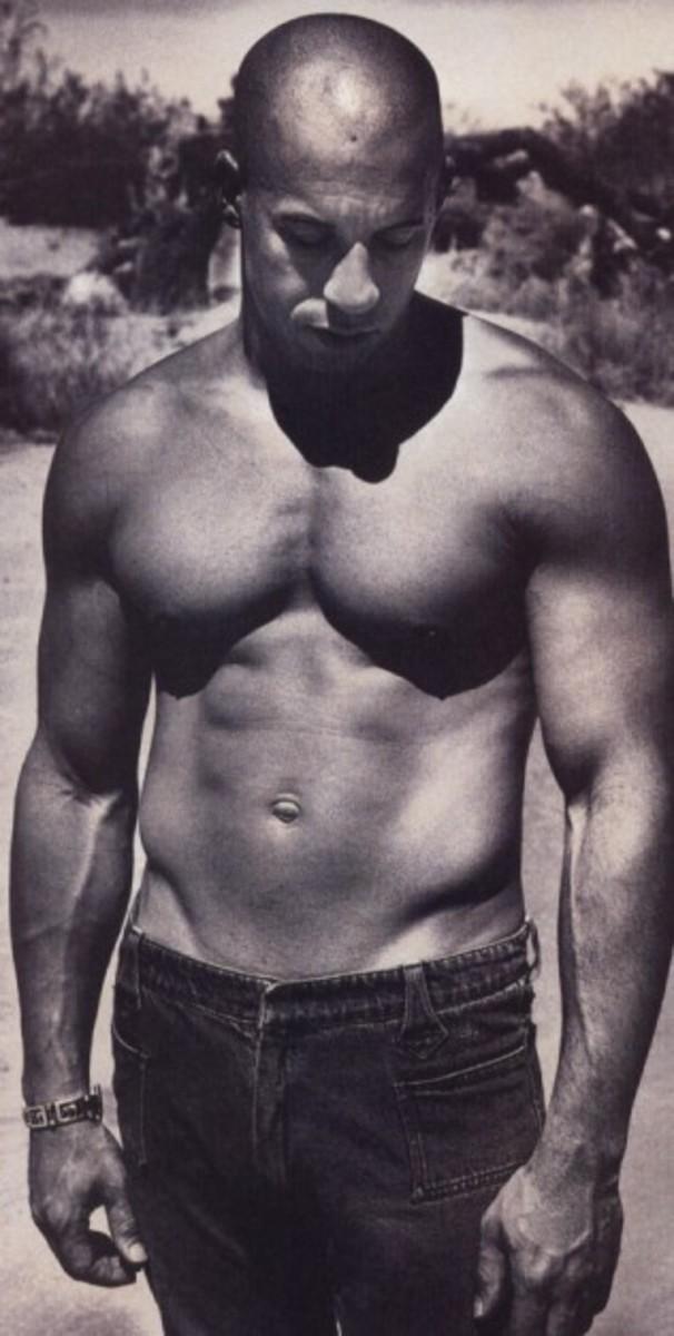 My personal favorite, Vin Diesel