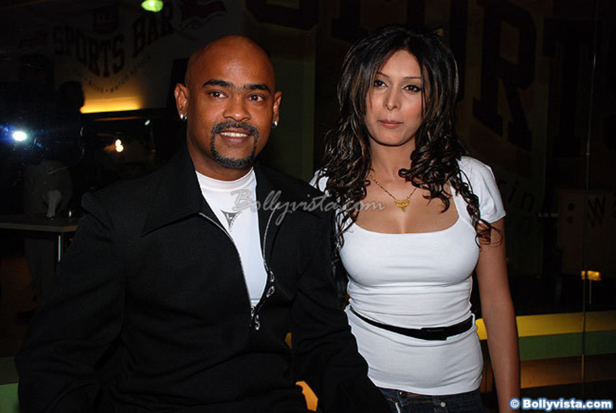 Vinod and Andrea Kambli