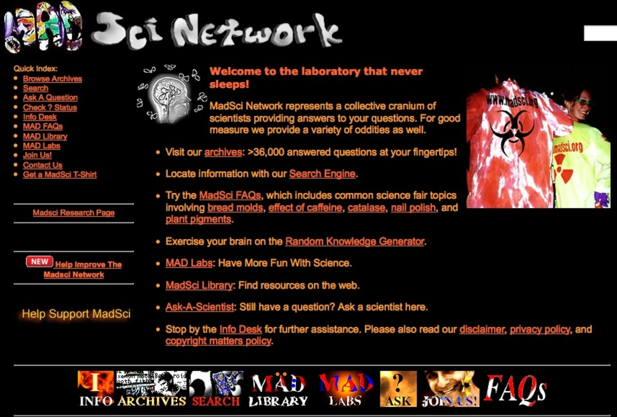 MadSciNet Science Project Network