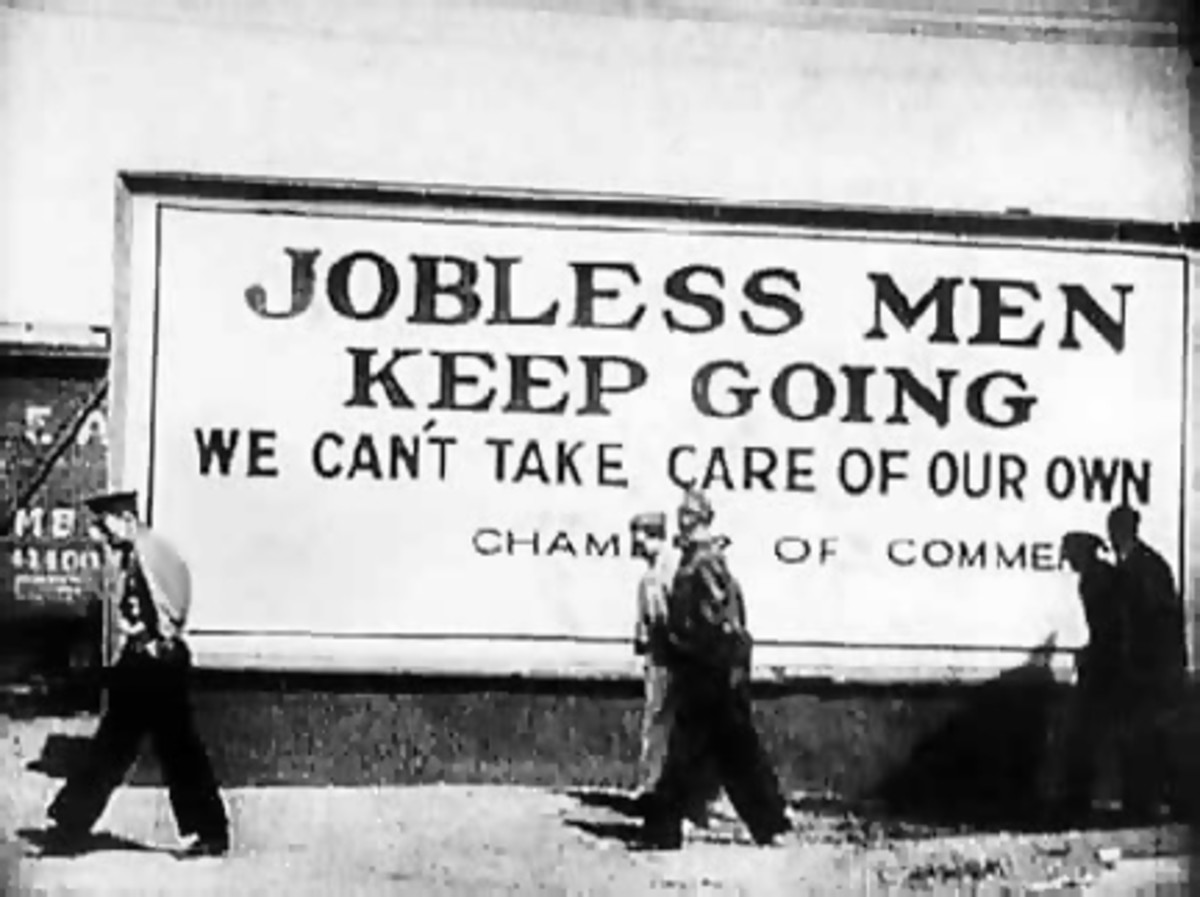 Showing the depth of desperation in the Great Depression