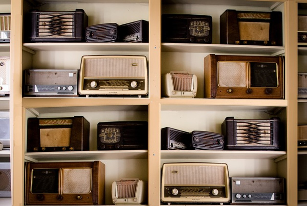 America listened to the hits on these radios in the 1950s.