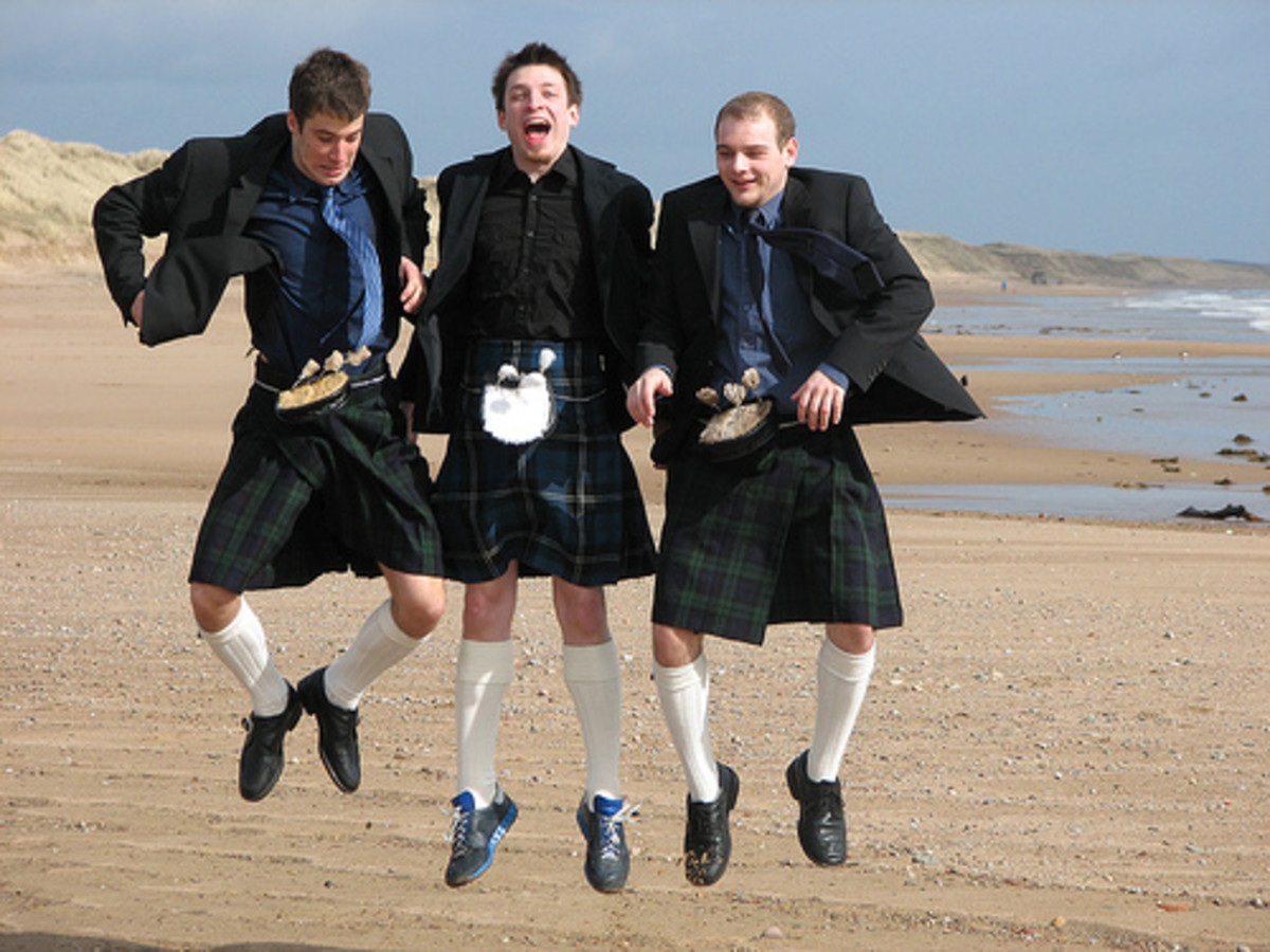 scottish skirts for men