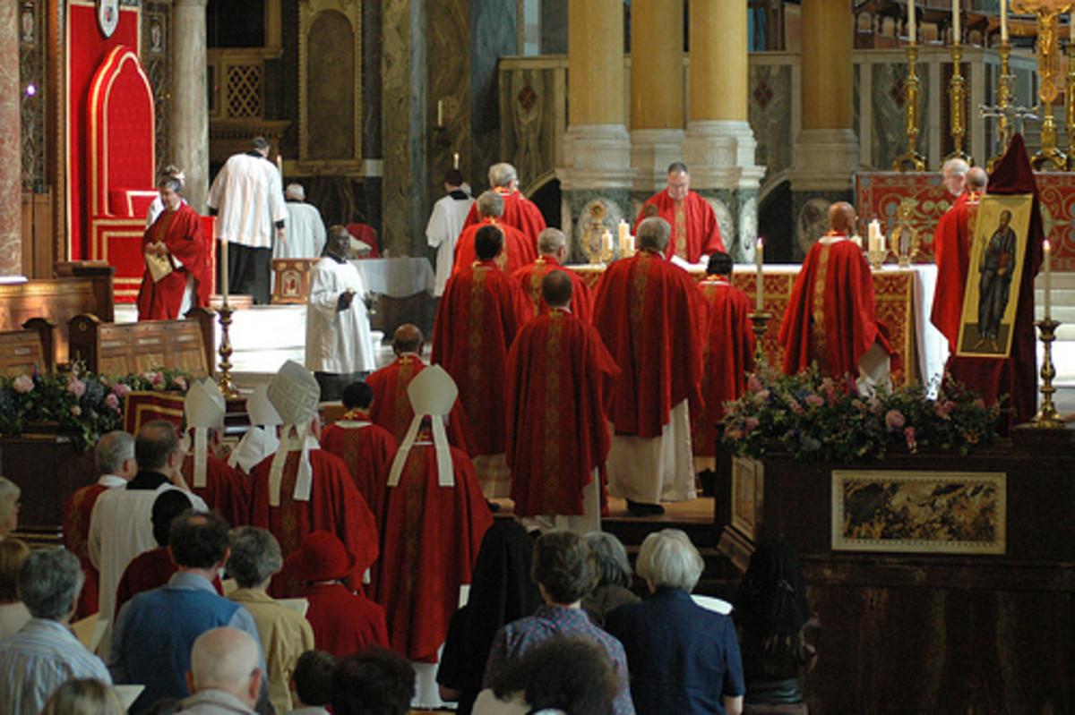 Roman Catholic Priests Photo: Catholic Westminster flickr