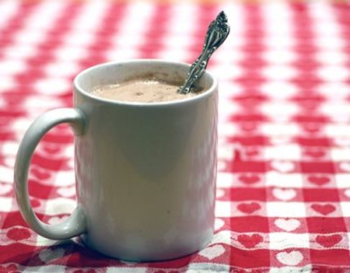 """""""Would You Like a Cup of Cocoa This Morning?""""       ~ My Mom"""