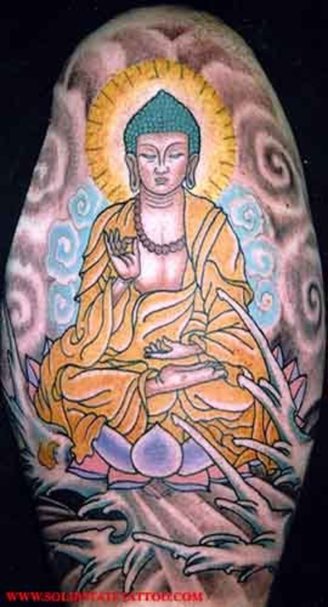 buddha (tattoo?) Pictures, Images and Photos hugs, smiles love and peace