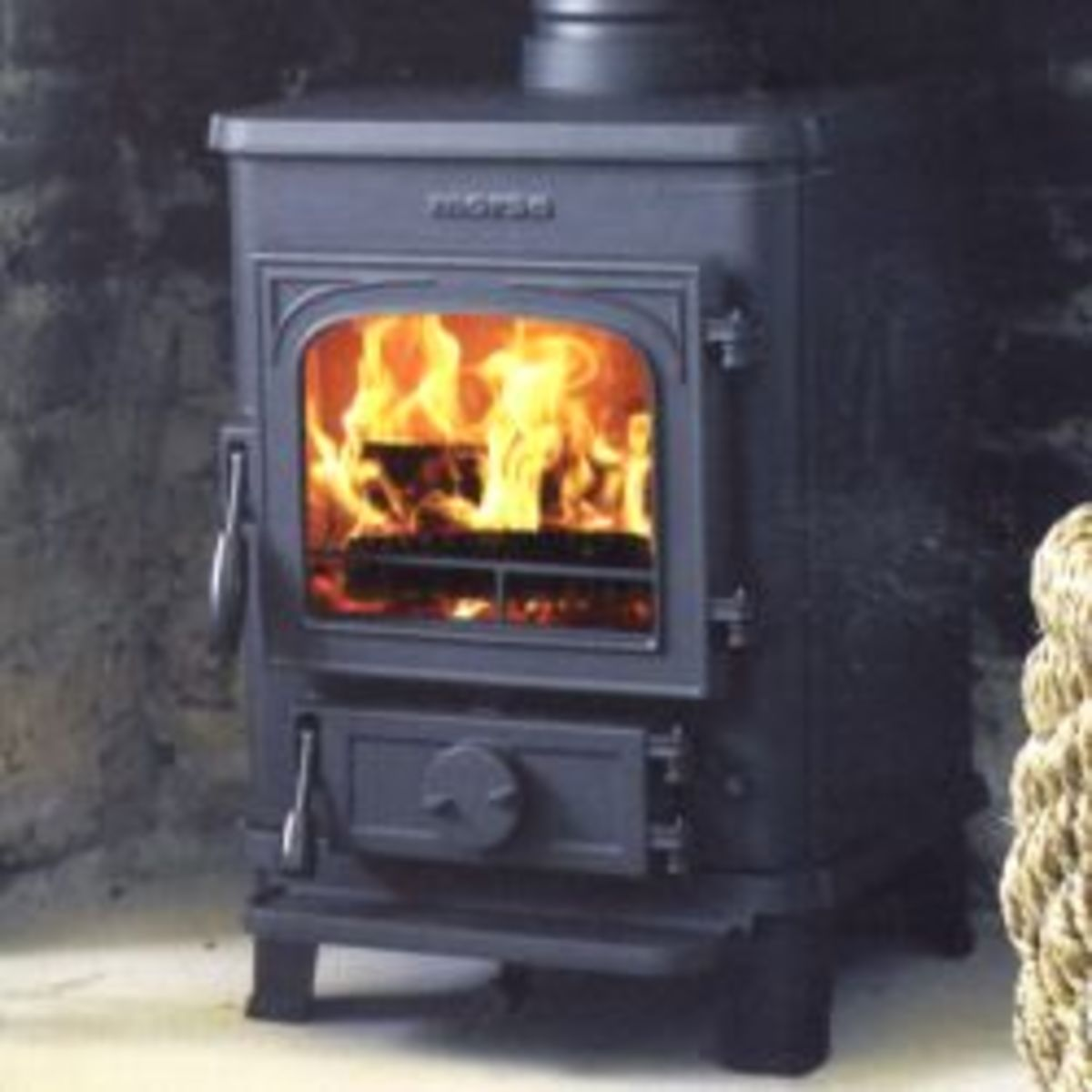 The Morso Squirrel 1430 Multifuel Stove