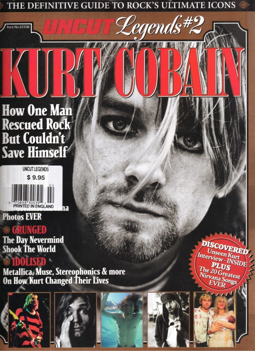 As was Nirvana's legendary Kurt Cobain.