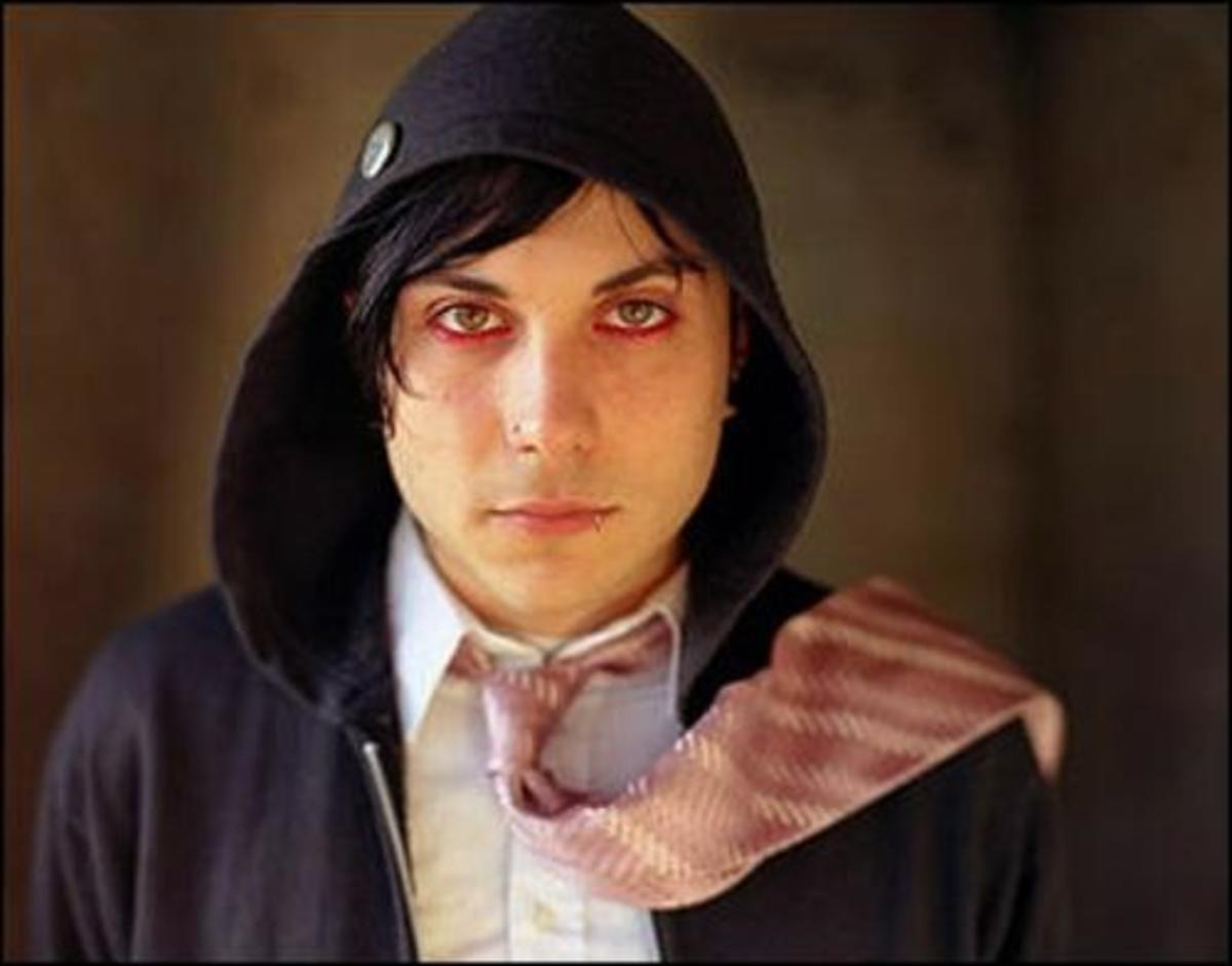 While bandmate Frank Iero sometimes goes red...