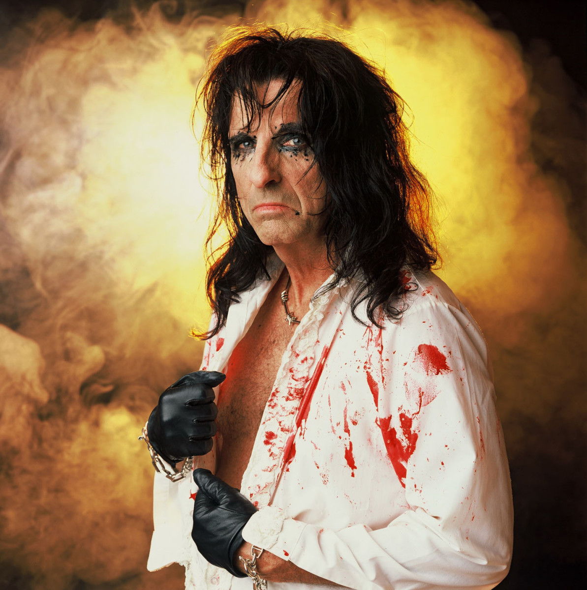 Alice Cooper. Photographer unknown.