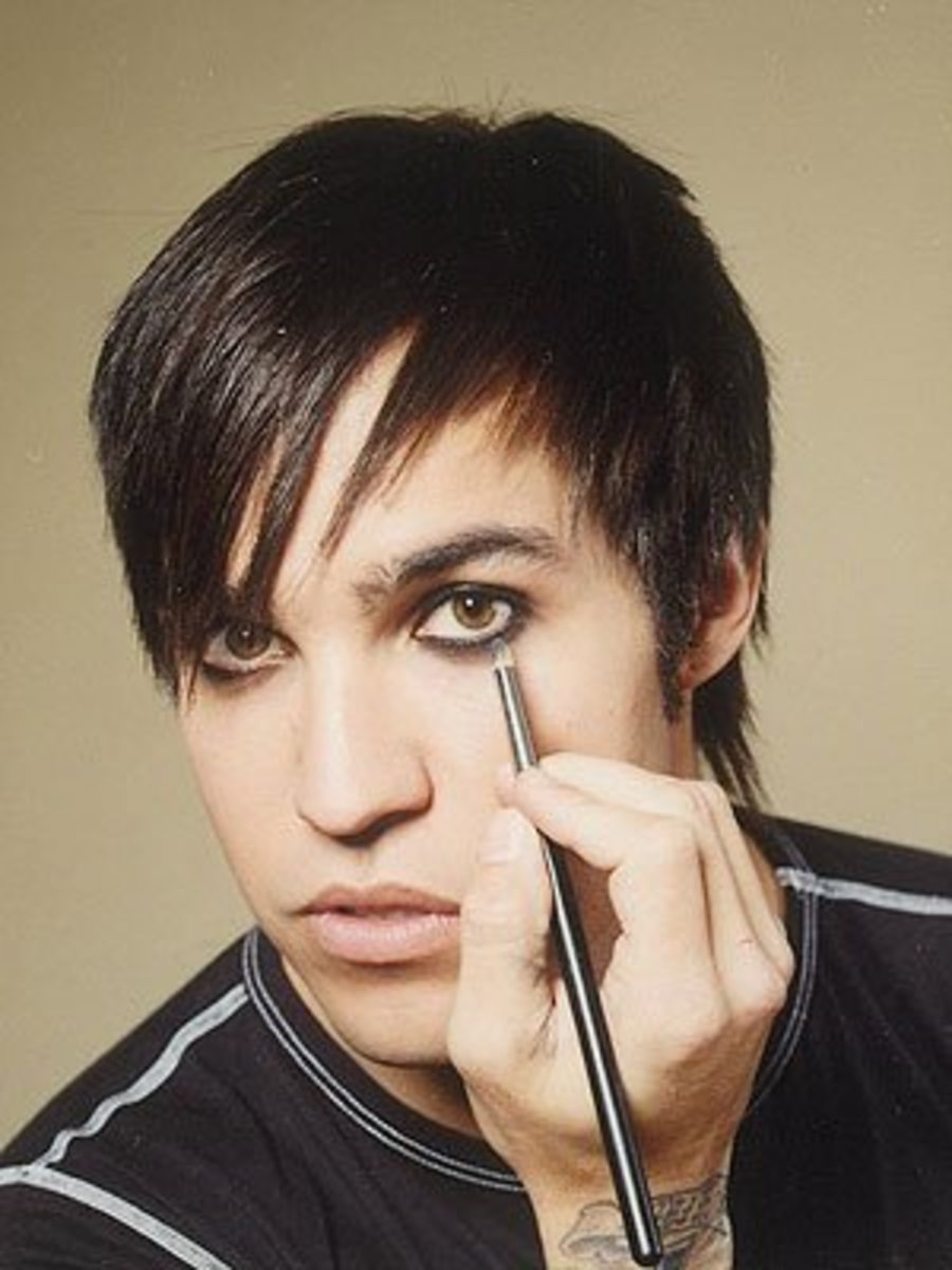 Pete Wentz. Unknown photographer.