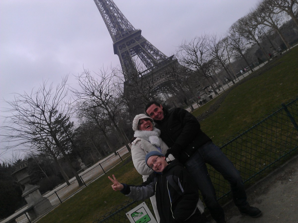 Visiting Paris With Children