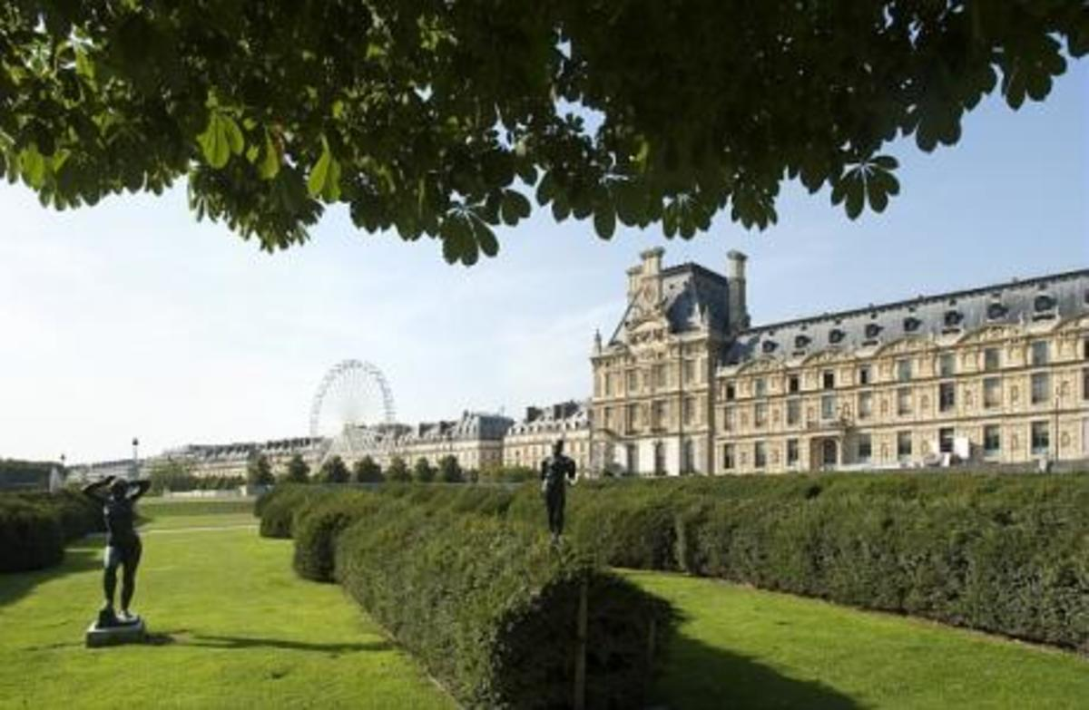 Tuileries with Museum d'Orsay