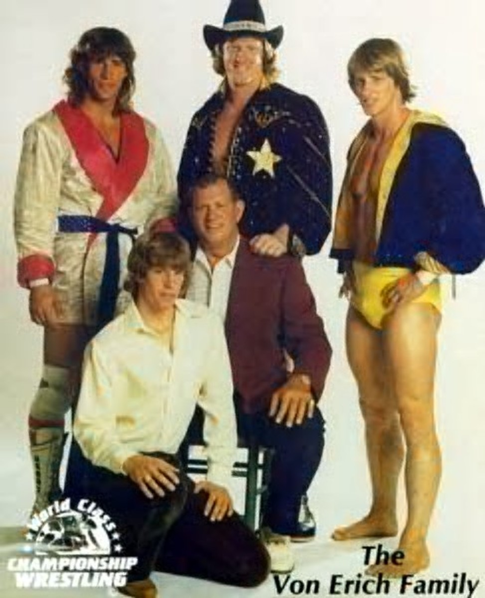 Wrestling Legends-The Von Erich Family