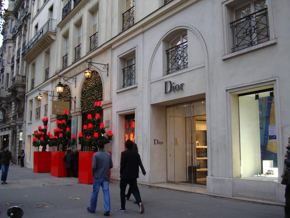 Dior Boutique in Paris