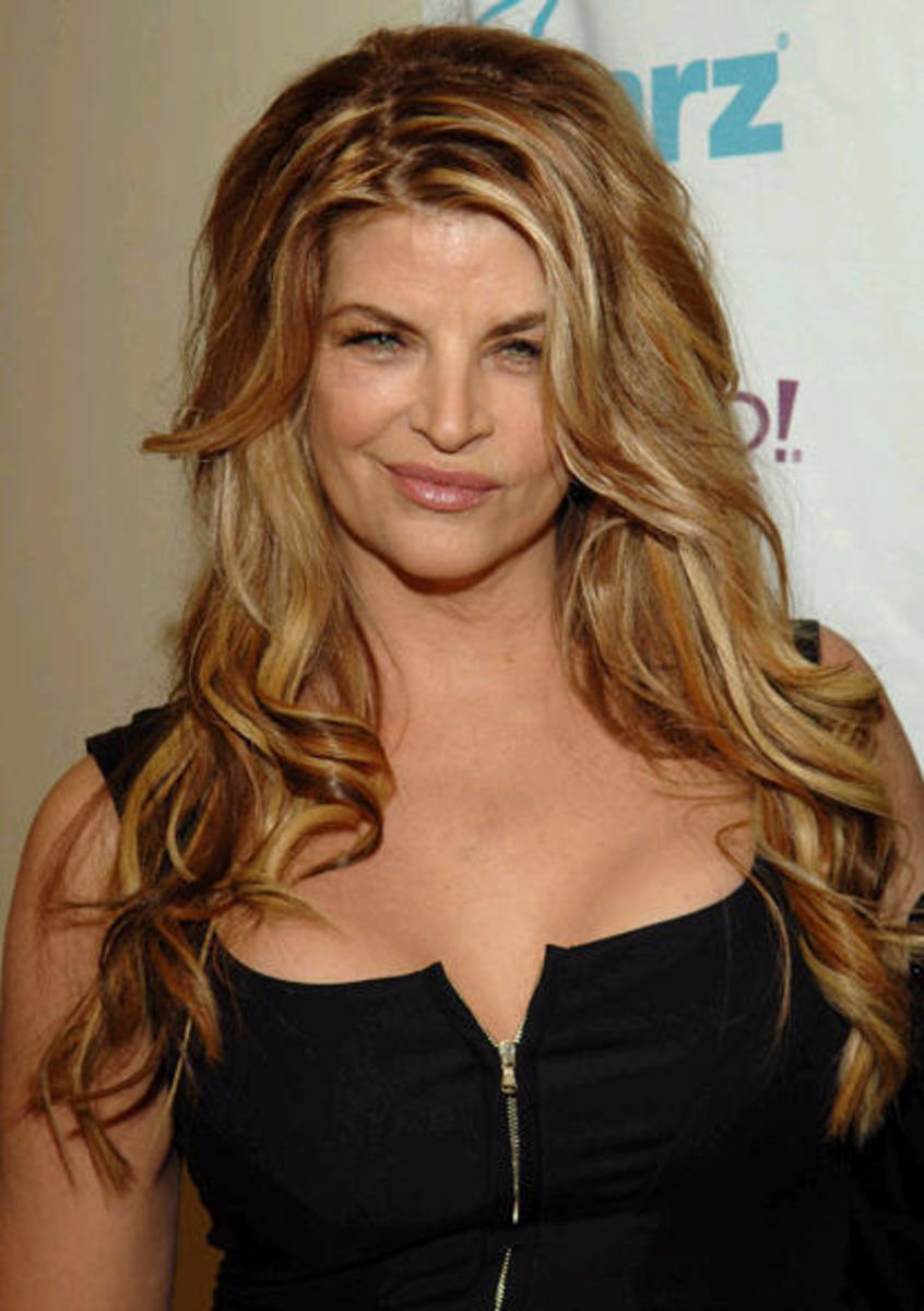 Kirstie Alley Weight Gain Photo Gallery