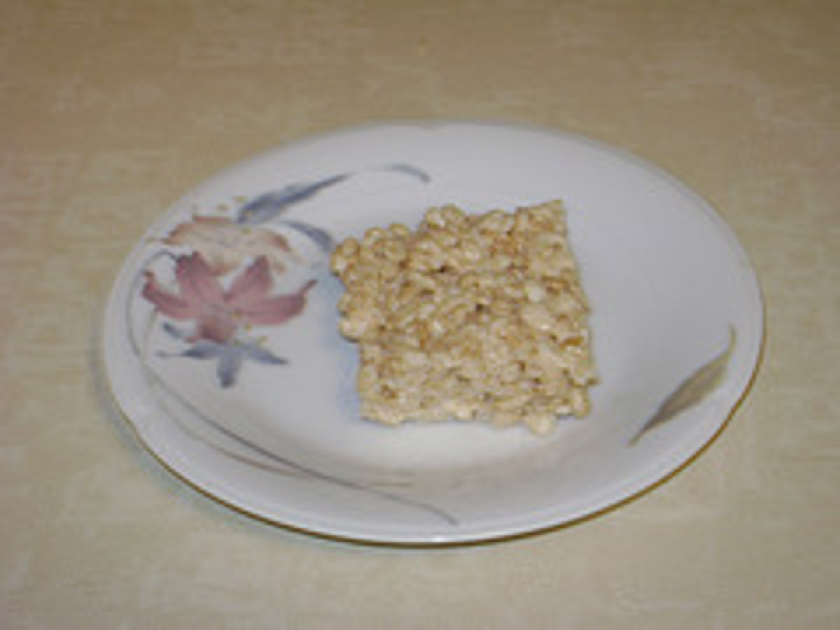 Rice Krispies square.