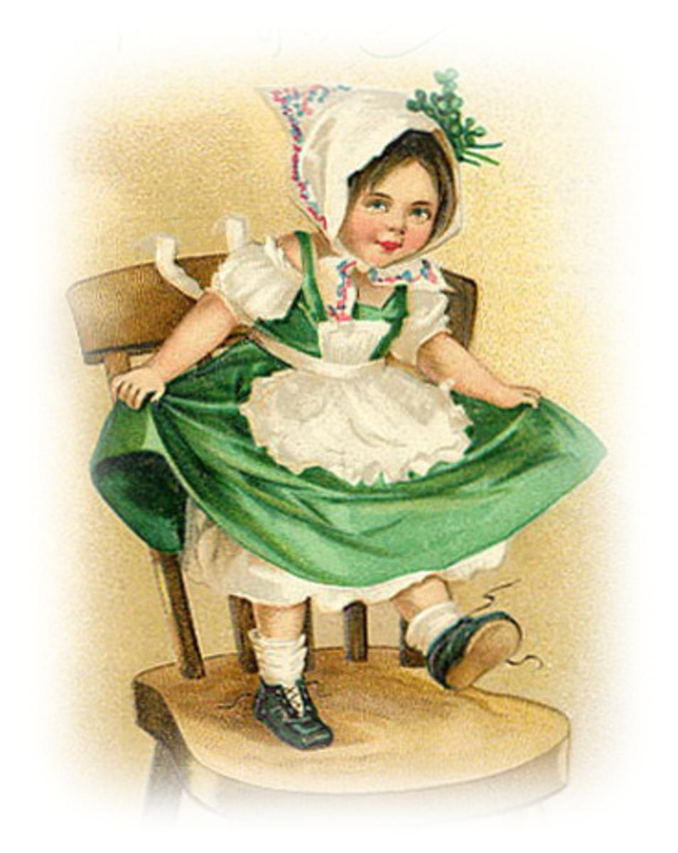 Free Vintage St. Patricks Day and Irish Clip Art