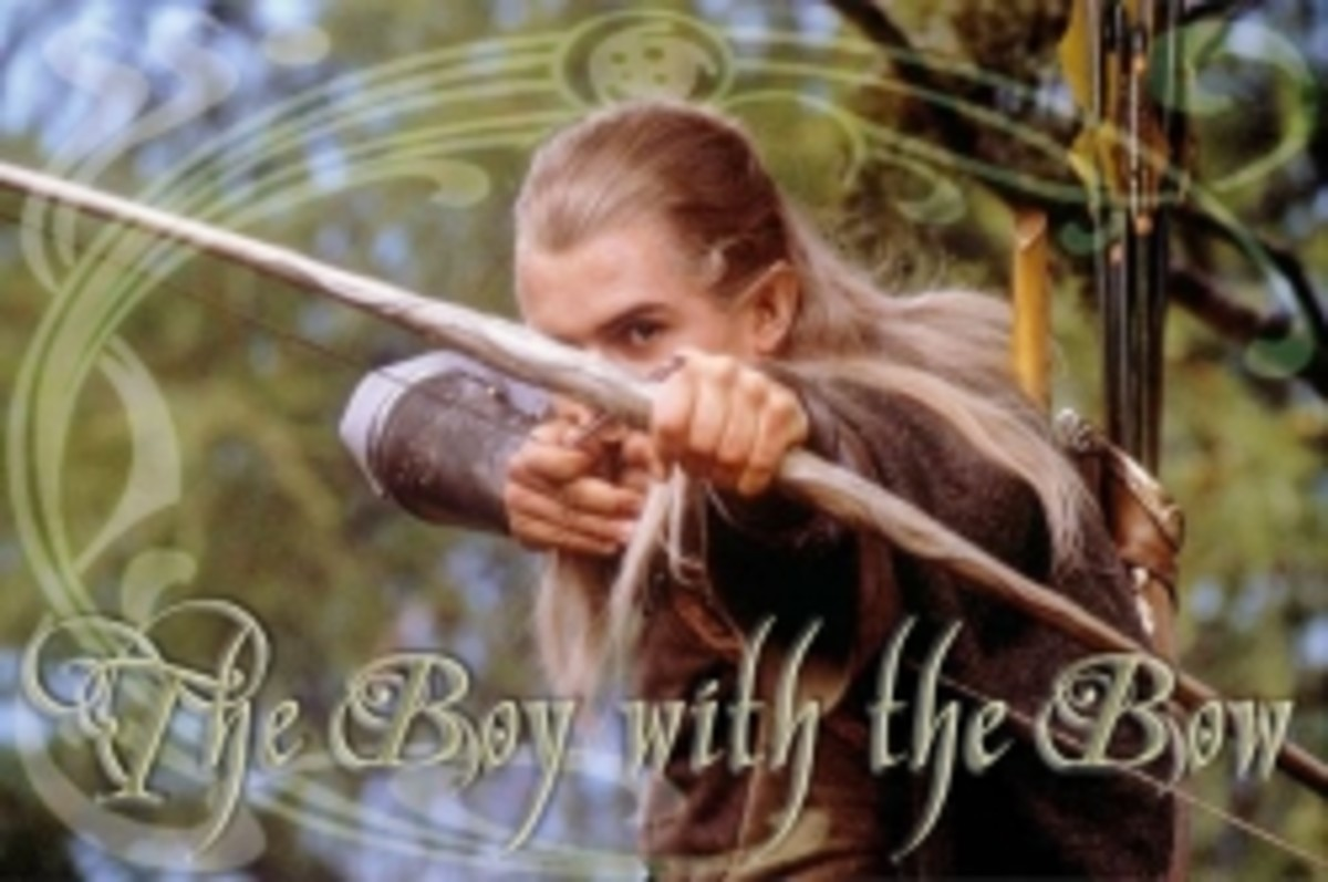Legolas: The Boy with the Bow
