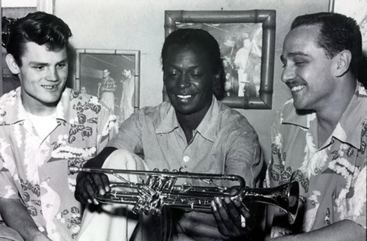 Chet Baker, Miles Davis, Rolf Ericson
