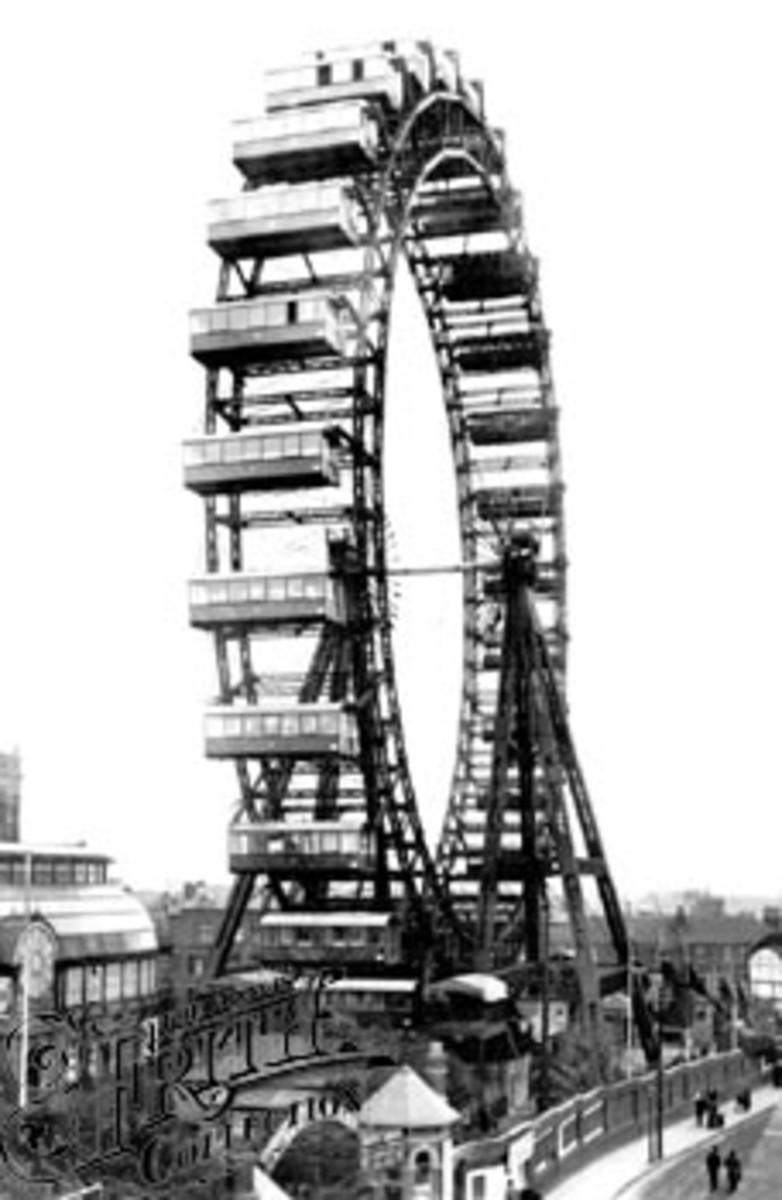 Wheel completed 1896