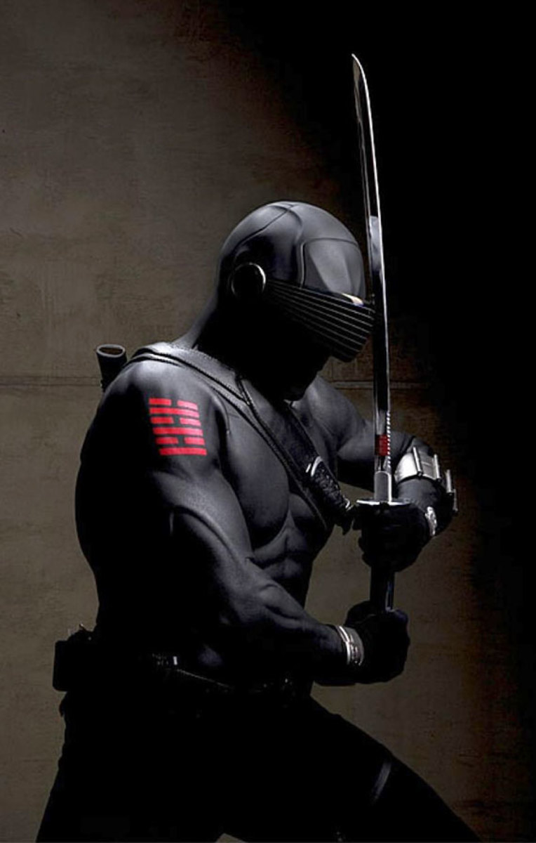Ray Park (Darth Maul fame) as Snake Eyes (my favorite character)