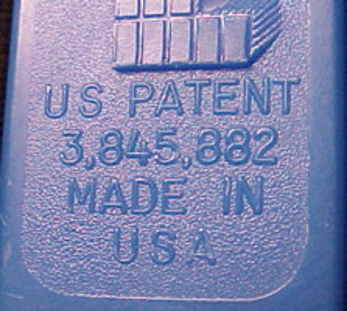 Patent 3.8
