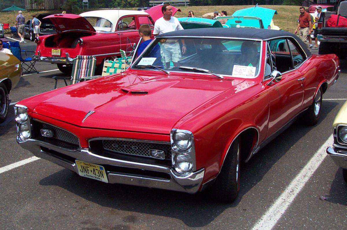 5 - 1967 Pontiac GTO