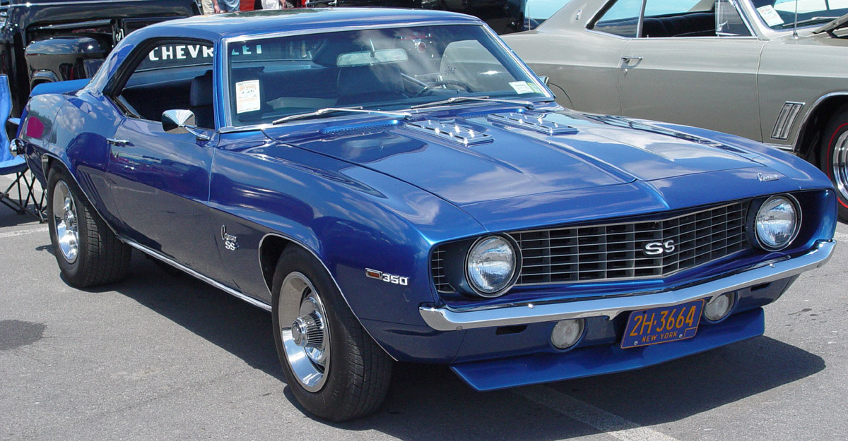 4 - 1969 Chevrolet Camaro SS