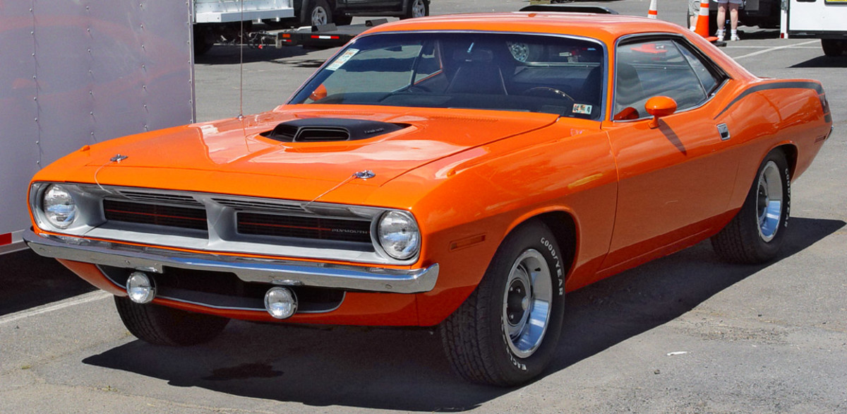 2 - 1970 Plymouth Barracuda