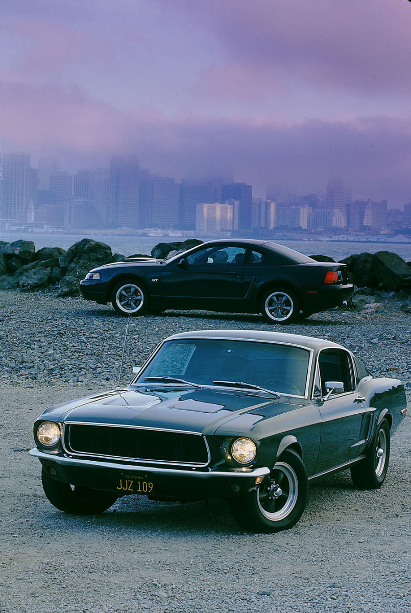 3 - 1968 Ford Mustang GT390 Fastback