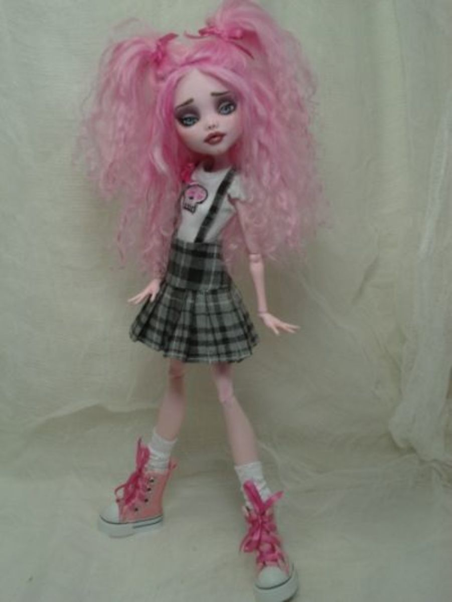 Bordello Custom Monster Doll
