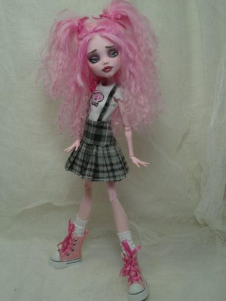 Bordello Custom Monster Doll