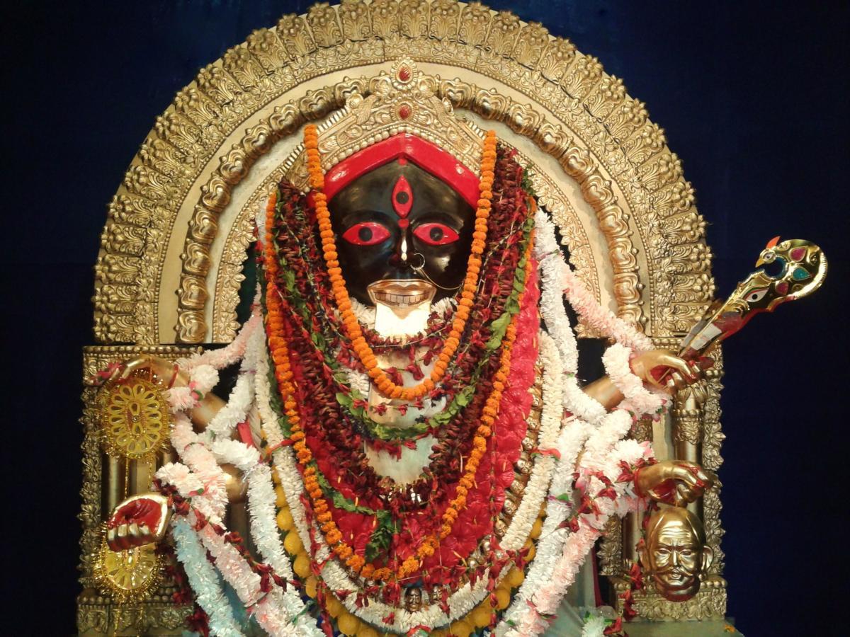 Maa Kali at Kalighat Temple