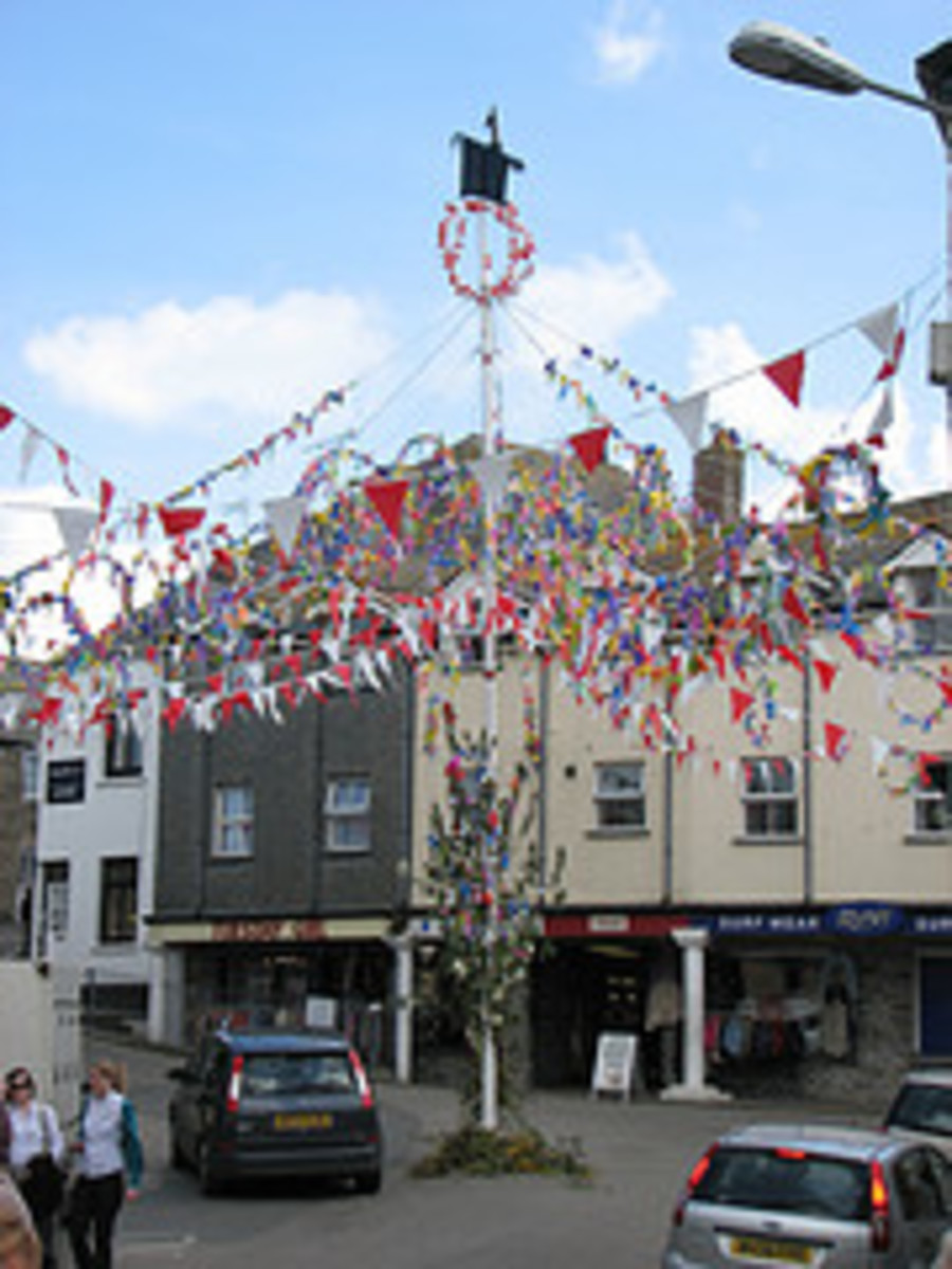 Padstow May Day, copyright Saffron Walden Snapper