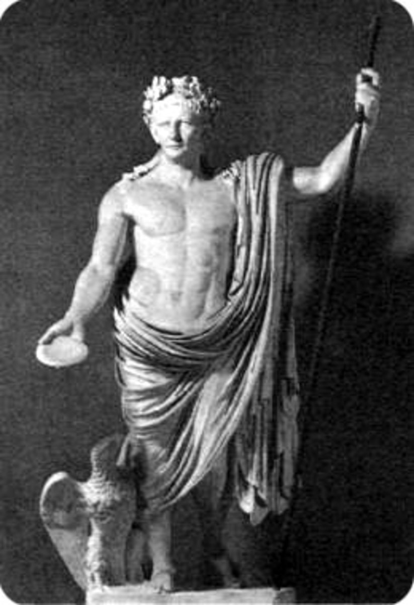 This Roman statue of Emperor Claudius, which stands in the Vatican, Rome, portrays him as a strong, muscular man of dignity and authority. However, Claudius was, in fact, physically deformed and walked with a limp. His speech impediment and physical
