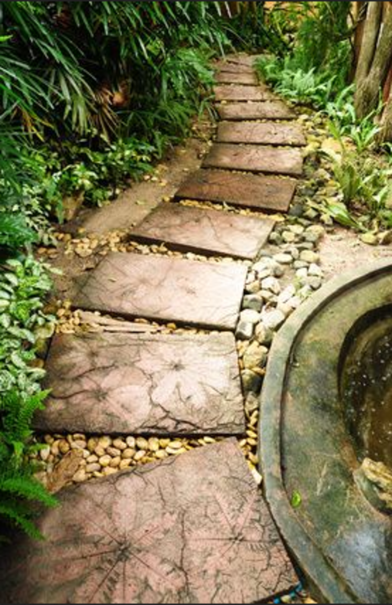 Stone Garden Path Pavers