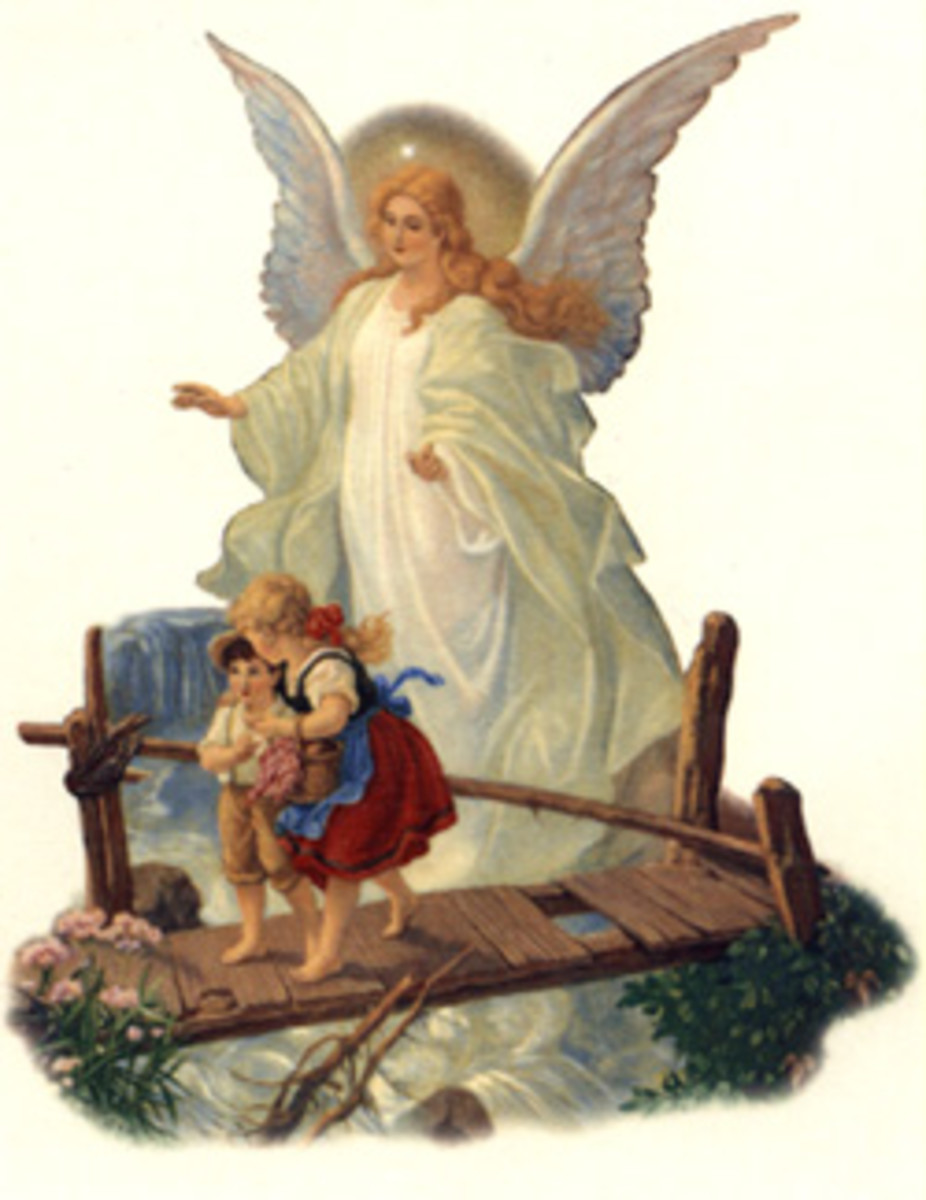 Angels are the servants of God, not divine creatures, but those who spiritually do war with demonic beings, performing all their directives from God - and for us at His command.  Wow!
