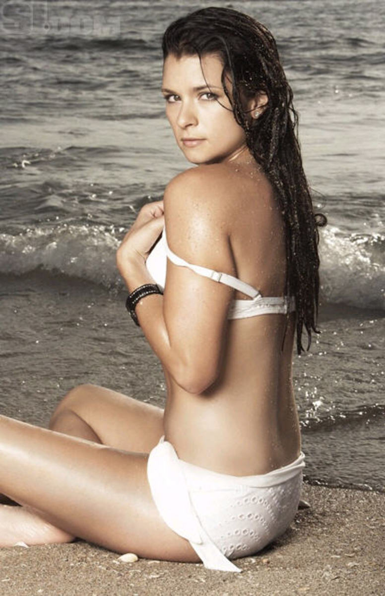 Danica patrick bikini swimsuit